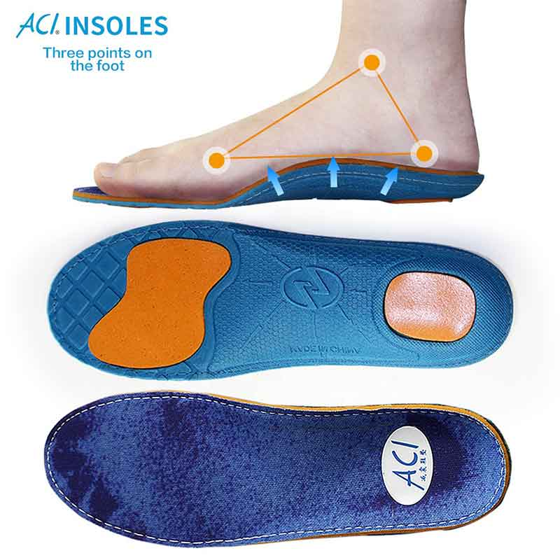 High Elastic Shock Absorpcja Basketball Shoe Insoles (ACF)
